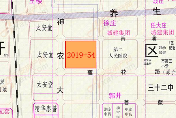 2019-54地块位置