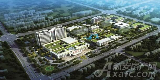 阜南县人民医院城北新区效果图