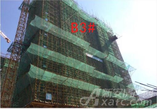 信达华宇锦绣龙川8月工程进度