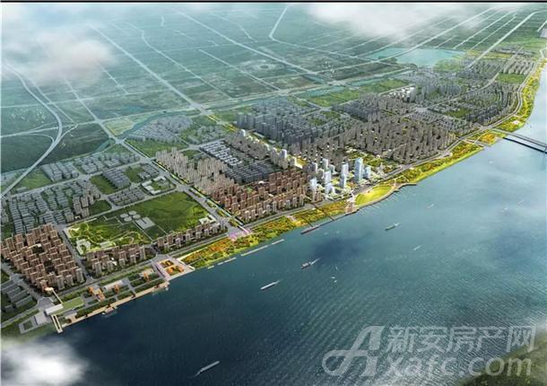 安庆滨江CBD效果图