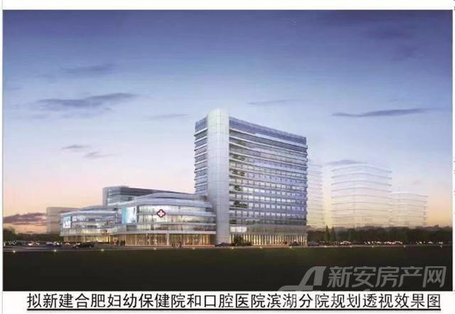 金融板块迎52亩三甲医院!2万+置业门槛!豪宅板块!