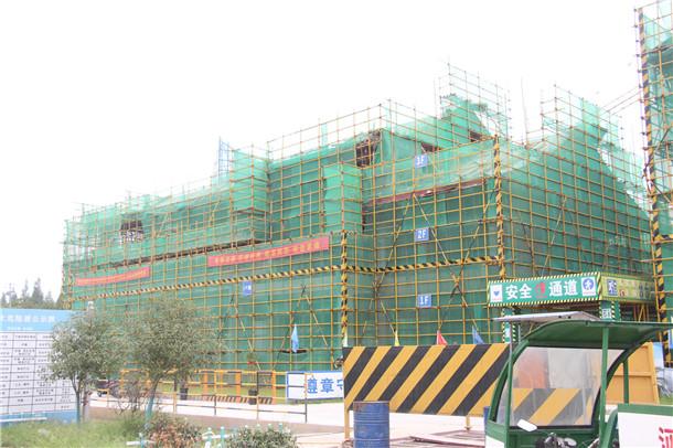 庐江水西门施工进度实景图