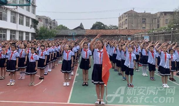 北城小学 升旗仪式