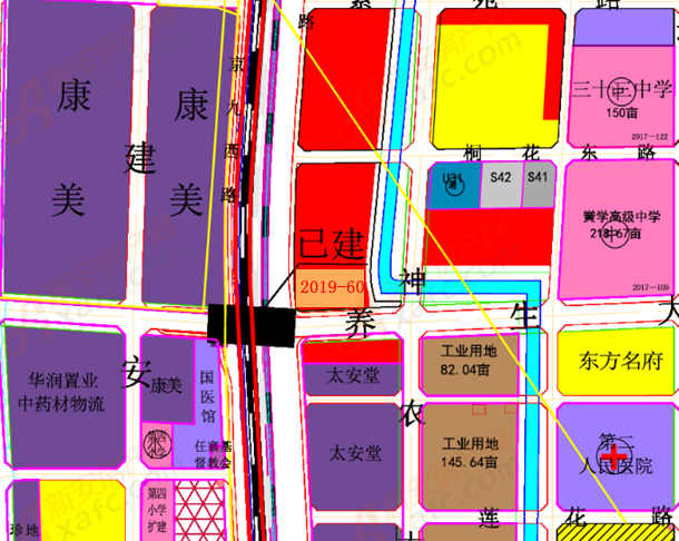 2019-60地块位置