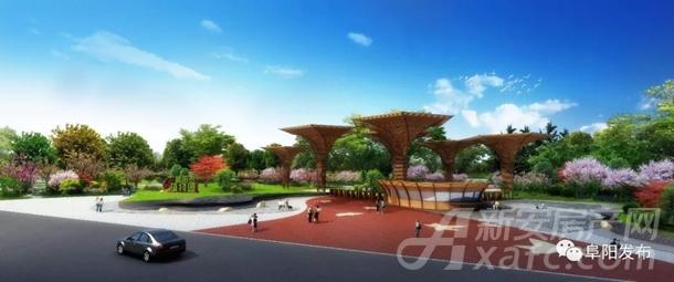 阜阳植物园北园出入口