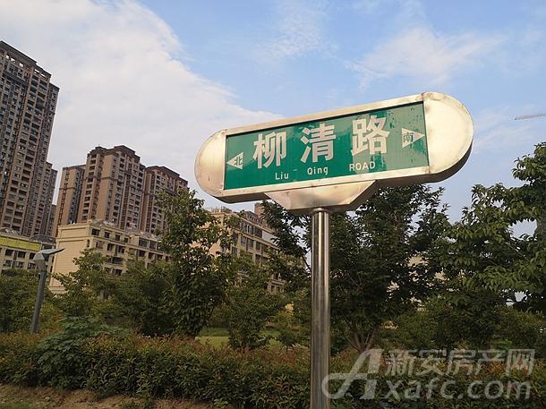 碧桂园书香名门项目东侧柳清路