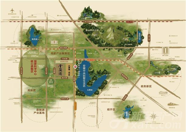 北雁湖玥园区位图