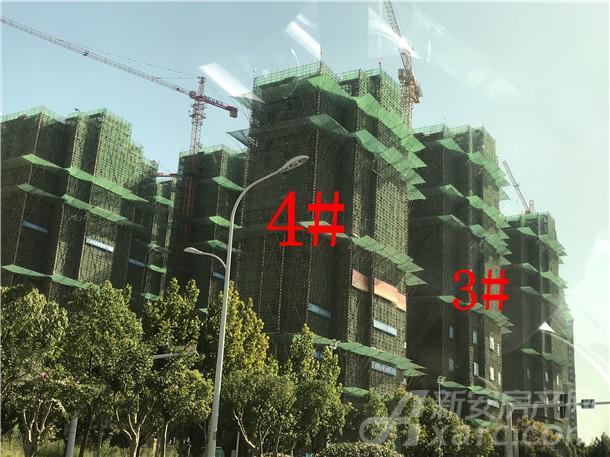 滨湖龙川里9月工程进度
