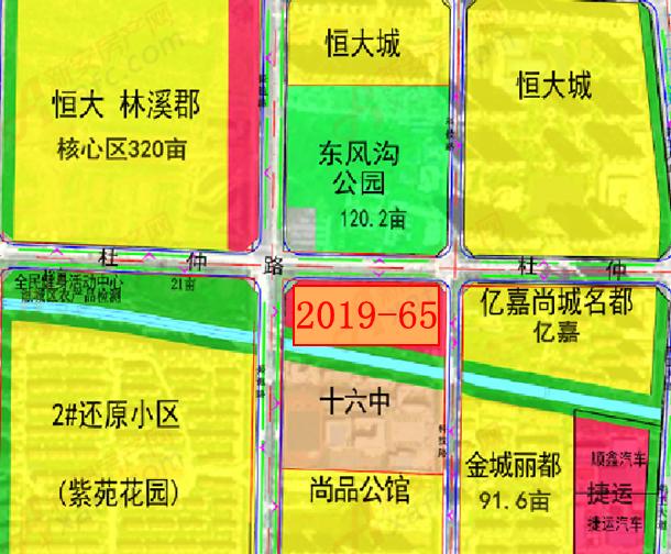 2019-65地块位置
