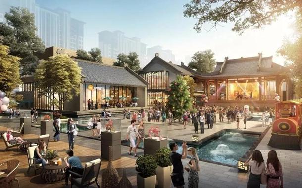 双清湾水街文化庆典广场示意图