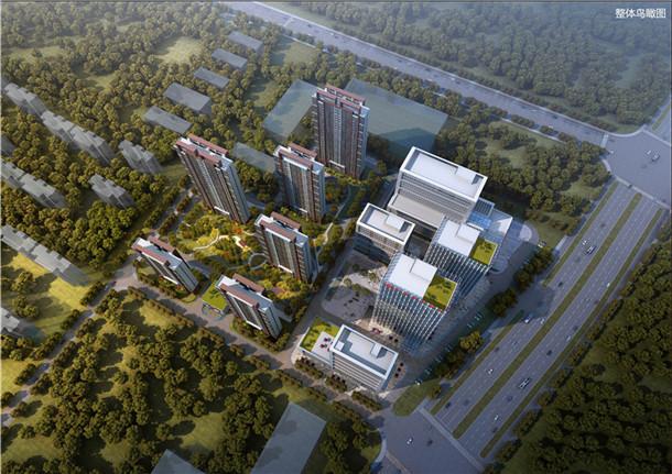 邦泰科技城楼栋图