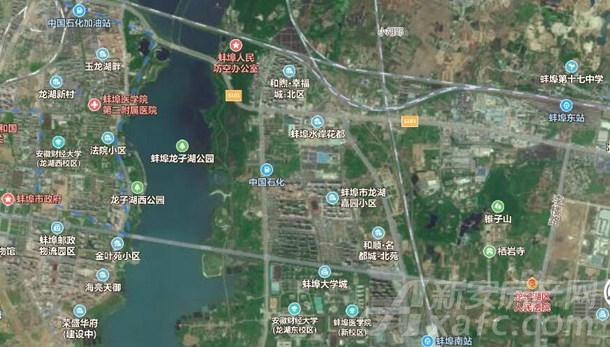 龙子湖卫生地图