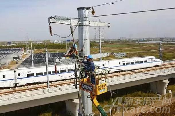 阜阳4座高铁牵引站全部实现双电源供电