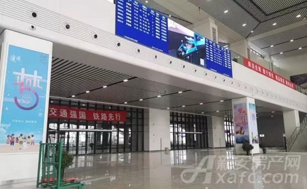 阜阳西站候车厅