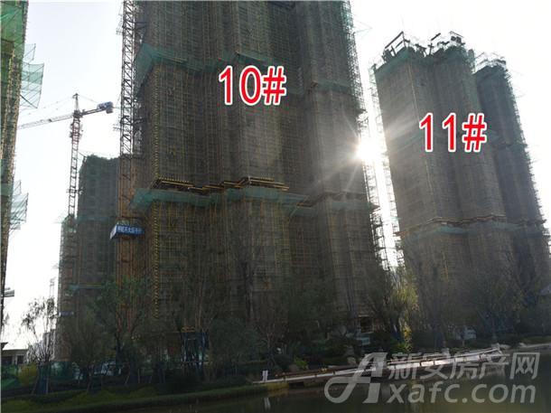 10#、11#住宅正在建设中