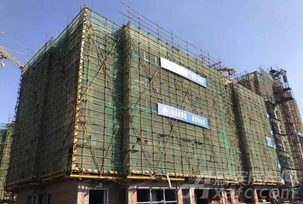2#楼主体结构验收完成,保温2-5层完成