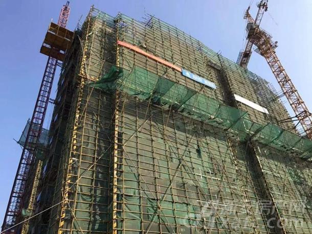 7#楼主体结构验收完成,保温8-11层完成(共11层)