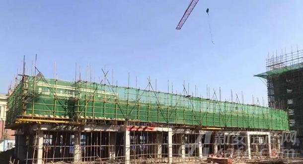 16#楼主体结构2层完成(共6层)