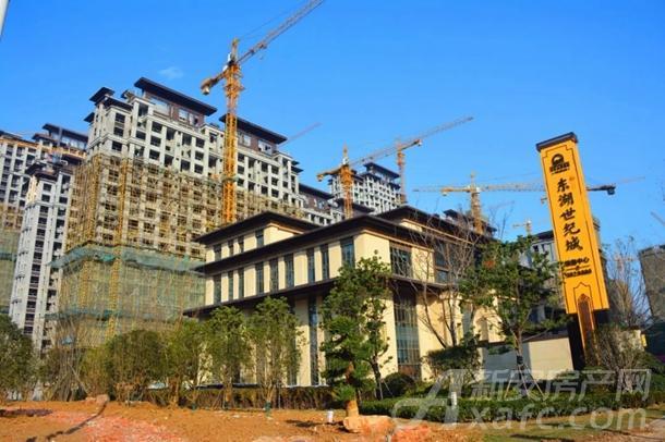 东湖世纪城2区最新工程进度