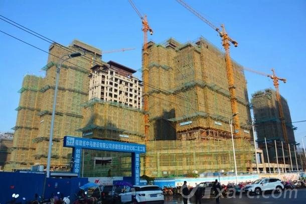 东湖世纪城6区最新工程进度