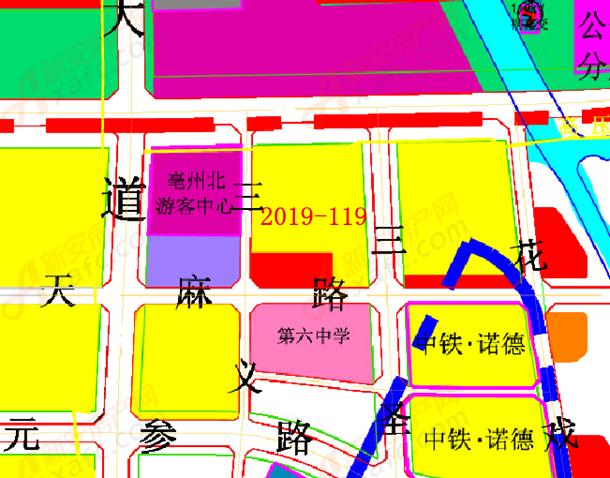 2019-119地块位置