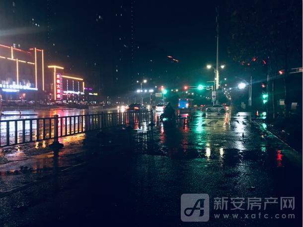 宣城夜晚街道