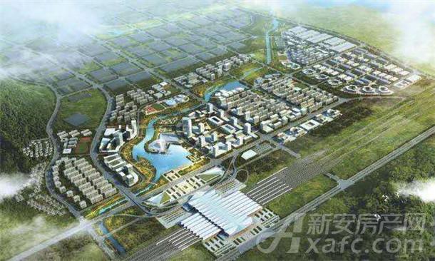 安庆高铁新区示意图