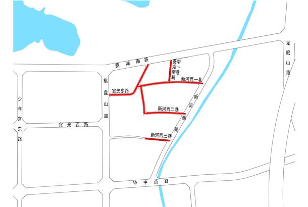 安庆工人新村地块区间道路建设工程规划方案出炉