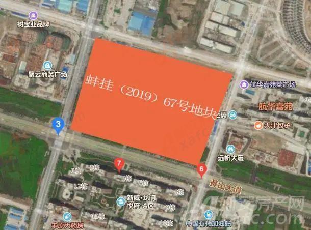 珍宝岛雍景院卫星图